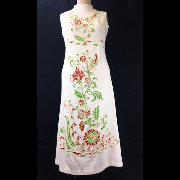 Vintage Dresses & Skirts - Vintage Montgomery Ward Floral Scooter Dress